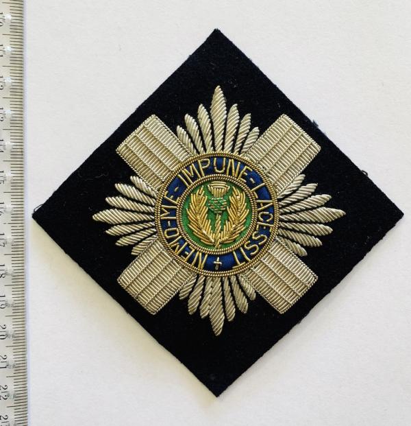 Scots Guard Blazer Badge, Blazer, Blazer Badge, Cap Badge,Blazer, badge, Cap, Cap Badge, Blazer Badge, Vintage badge, military, military badge, military button