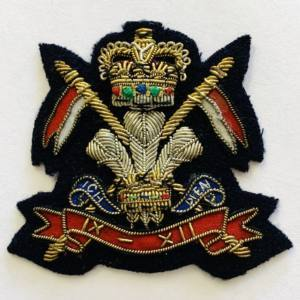 The 16th Queen's Lancers Cap Badge, Cap, Cap Badge,Blazer, badge, Cap, Cap Badge, Blazer Badge, Vintage badge, military, military badge, military button