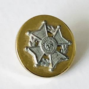 Button, Rifle Brigade Buttons, Gold Button, Military, Military Button, Military Badge, Vintage, Embellishments, Accessories