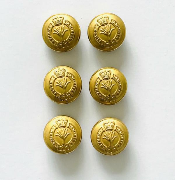 Button, Welsh Guards Buttons, Gold Button, Military, Military Button, Military Badge, Vintage, Embellishments, Accessories