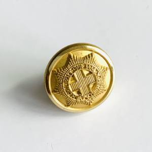 Button, Coldstream Guards Buttons, Gold Button, Military, Military Button, Military Badge, Vintage, Embellishments, Accessories