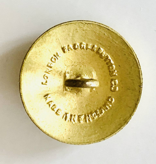 Button, Regular Army Buttons, Gold Button, Military, Military Button, Military Badge, Vintage, Embellishments, Accessories