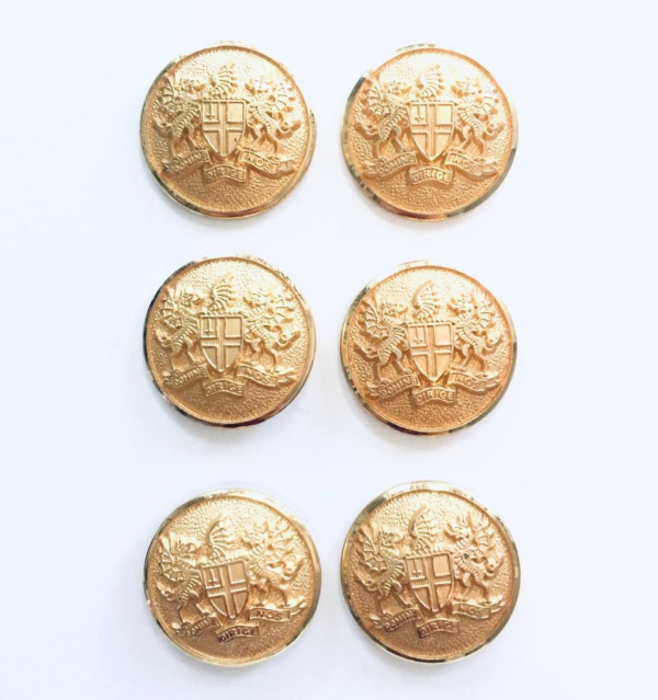 Button, City of London Button, Gold Button, Military, Military Button, Military Badge, Vintage, Embellishments, Accessories