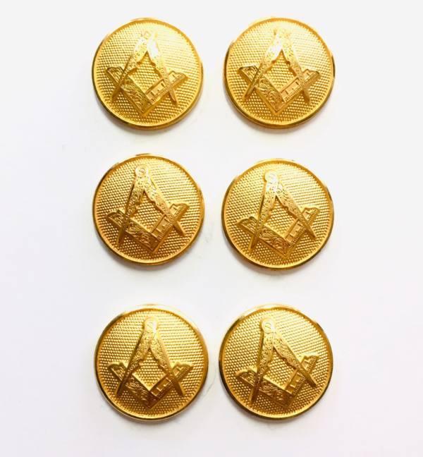 Button, Mason Button, Gold Button, Military, Military Button, Military Badge, Vintage, Embellishments
