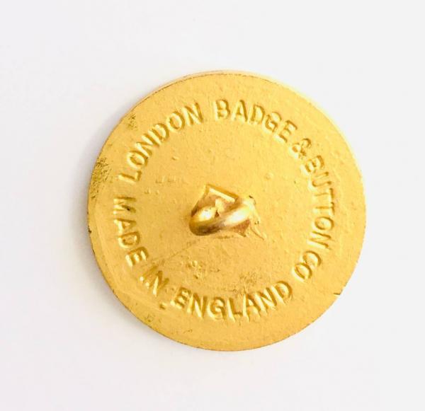 Button, Wind Surfing Button, Gold Button, Military, Military Button, Military Badge, Vintage, Embellishments, Accessories