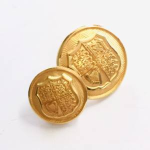 Button, Royal Arms of the United Kingdom Button, Gold Button, Military, Military Button, Military Badge, Vintage, Embellishments, Accessories