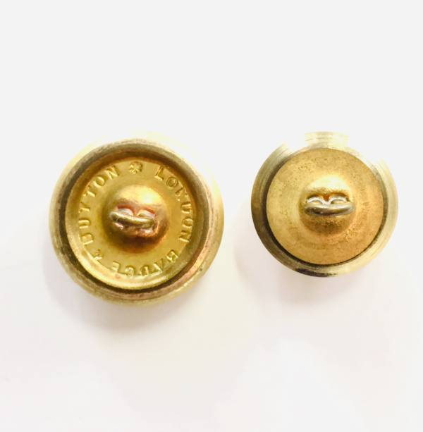 Button,King College Cambridge Button, Gold Button, Military, Military Button, Military Badge, Vintage, Embellishments, Accessories