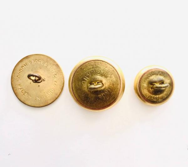 Button, Royal Blackheath Golf Club Button, Gold Button, Military, Military Button, Military Badge, Vintage, Embellishments, Accessories
