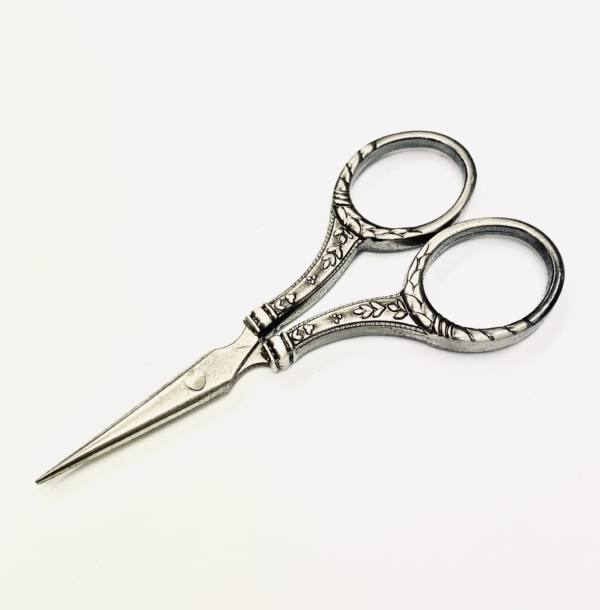 Scissors, Embroidery Scissors, Silver Scissors, Embroidery Scissors, Equipment, Materials, Snips, Fabric Scissors