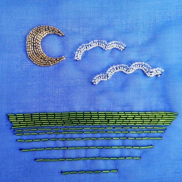 Tambour, Tambour Beading, Online Class, Beads, Beading, Design Outcome