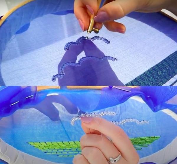 Tambour, Tambour Hook, Embroidery, Beading, Sequins, Tambour Hook, Hook, Needle, Online Class, Product Development