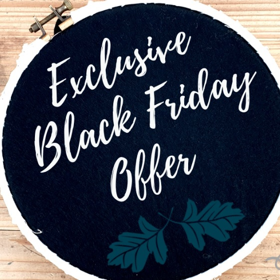 social media, cyber Monday, black Friday, promotion, instagram, youtube, facebook, twitter, sale, orders, kits, equipment, materials, embroidery, embroidery hoop