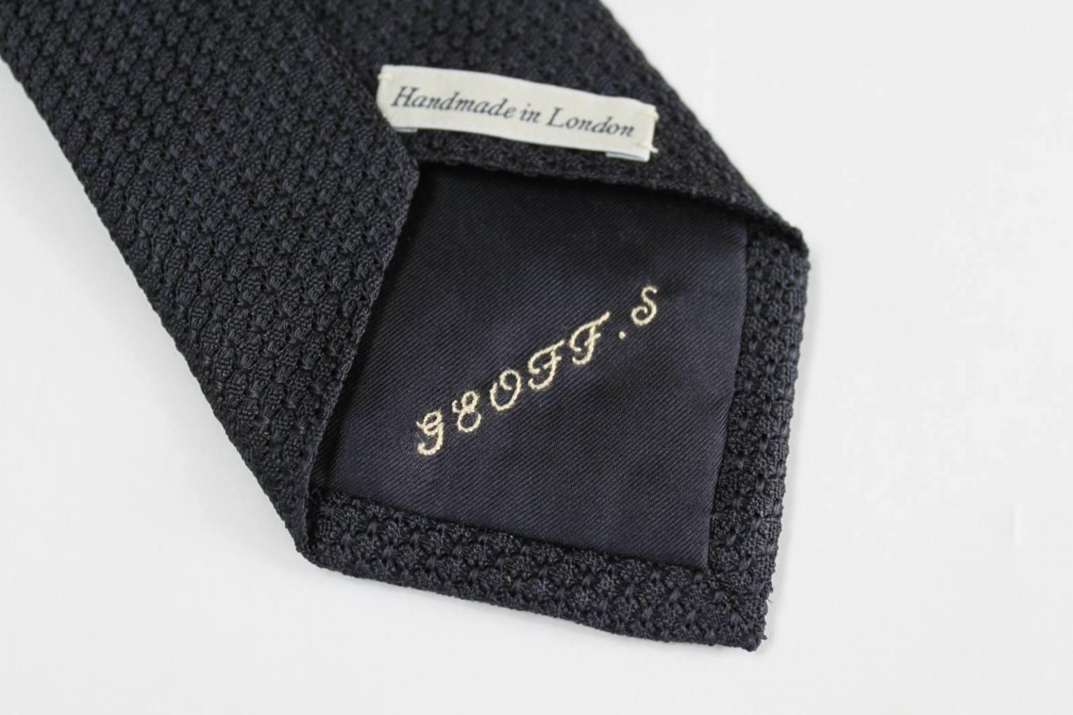 Monogram, monogramming, lettering, stitch, stitching, embroidery, textiles, tie, black tie, accessories