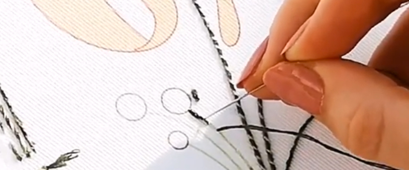 Introduction to embroidery hands