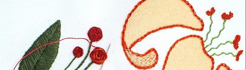 Intro to embroidery with needle