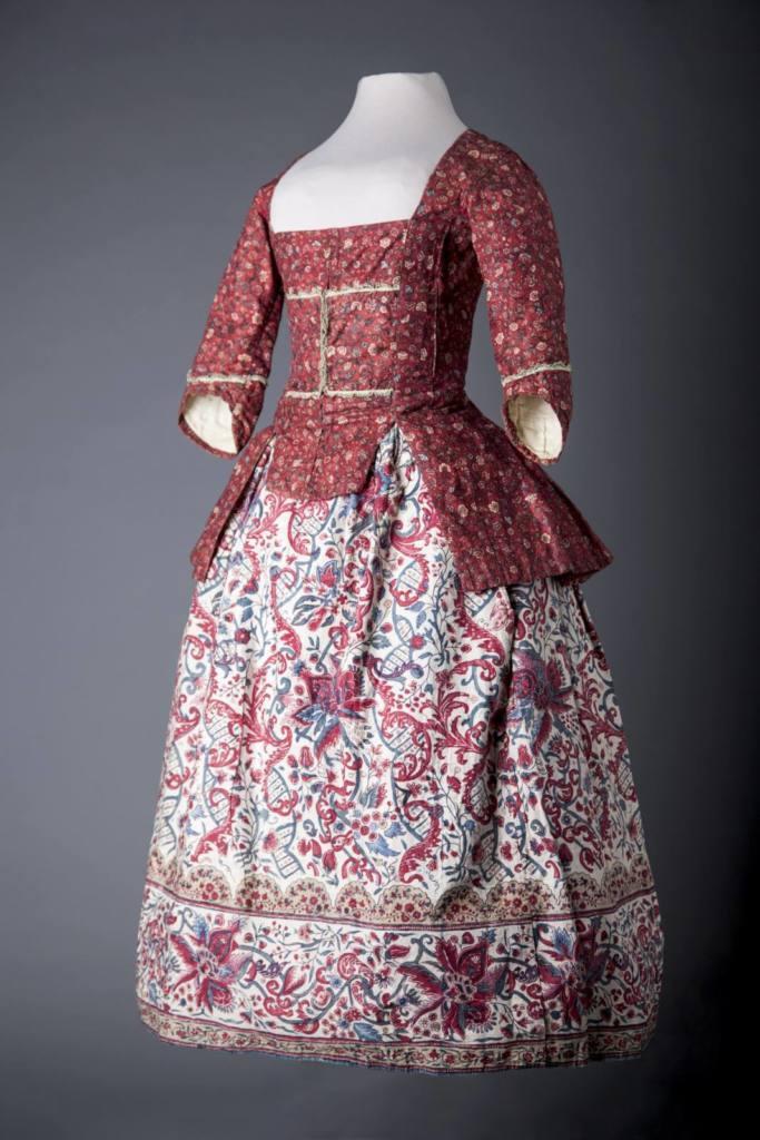 dress, Chintz, Childs dress, pattern