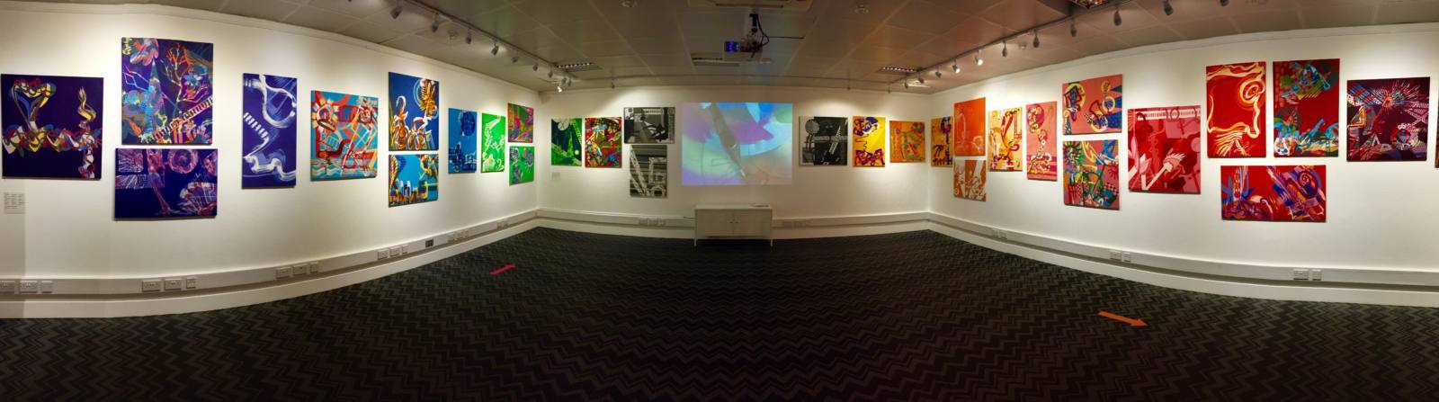 Annie Phillips, art, batik, dye, colour, exhibition